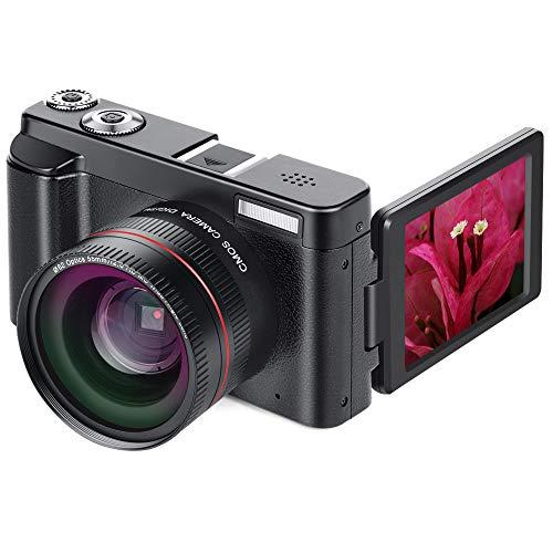 BouBou Dc101 24Mp 16X Zoom Fokus 1080P Hd 0 Zoll Tft Bildschirm Digital SLR Kamera Mit Makro Objektiv - A