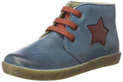 falcotto lauflernschuhe Falcotto Baby Jungen 1586 Sneaker, Blau (Erdoel), 21 EU