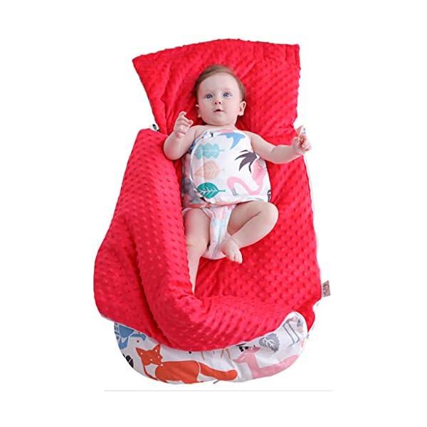IPOTCH Bebé Infantil Recién Nacido Saco de Dormir de Dibujos Animados Manta Caliente – A