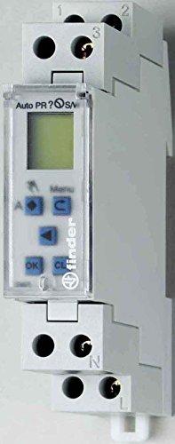 Finder Zeituhr elektronisch WochenProgramm, 1 Stück, 12.71.0.024.0000 - 1ac Adapter