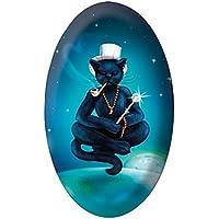 Lo Scarabeo - Kristallobject: Magnet schwarze Katze (Magician) 1St. (HxTxB: 45x18x33mm) preisvergleich bei billige-tabletten.eu