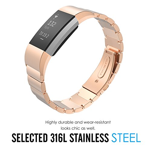MoKo-Replacement-Universal-Stainless-Steel-Watch-Band-Strap-Bracelet-Connector-for-2016-Fitbit-Charge-2-Parent