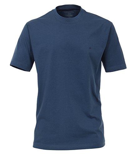 CASAMODA Herren T-Shirt 004200-467 graues Mittelblau - uni (125)