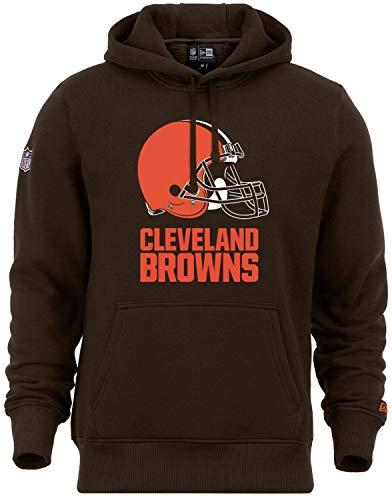 New Era - NFL Cleveland Browns Team Logo Hoodie - Braun Größe L, Farbe Braun