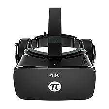 PIMAX 4K VR Brille 3D VR Gläser für PC Spiele Videos Filme Schwarz
