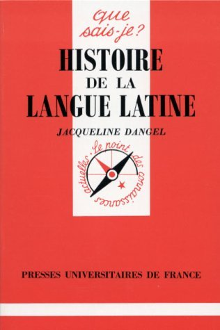 Histoire de la langue latine