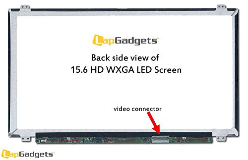 Lap Gadgets Replacement Laptop LED Screen FOR HP Pavilion HP 15-n207tu 15.6 inch wide Screen WXGA (1366x768) with 1yr warranty