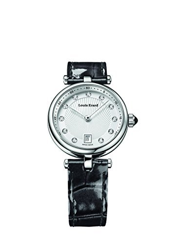 Louis Erard Romance Collection Quartz Silver Dial Women's Watch 10800AA11.BDCA7
