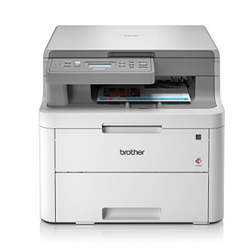 Brother DCP-L3510CDW Imprimante multifonctions 3 en 1 Laser | Couleur | Silencieuse | Impression...