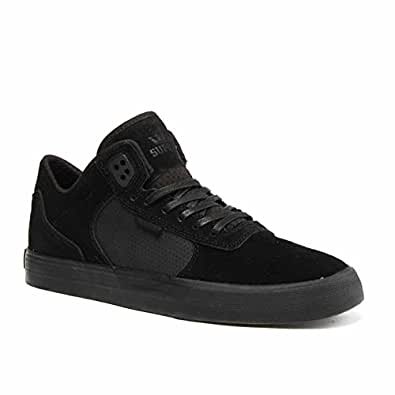 6bf6134a25f5 Supra Ellington Vulc Shoes - Black Black UK 11  Amazon.co.uk  Shoes ...