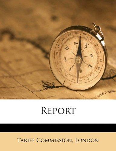 Report Volume 1