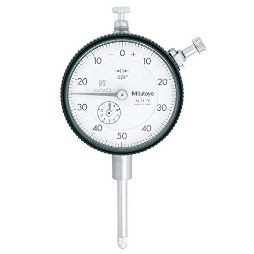 Mitutoyo 2417S Plunger Dial Indicator 1 Gauge Test Inspection by Mitutoyo (Dial Indicator Gauge)