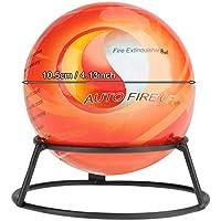 GXMZL Extintor Ball - Extintor Pelota Muy fácil Tire pérdida de la Parada de Seguridad contra Incendios Herramienta (0,5 kg)