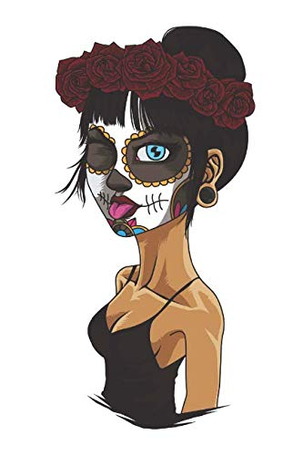 Bonito La Calavera Catrina: Blank Lined Journal for Day Of The Dead Lovers