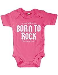 BABY BLACK BODY BODYSUIT SLAYER 5  HEAVY METAL ROCK LANGARM//KURZARM