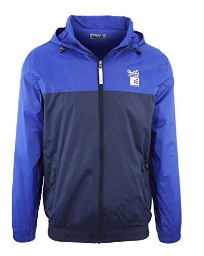 Gio-Goi Herren Collegejacke Jacke blau blau Mid-point Gr. M, blau