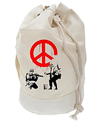 CND soldats de Banksy/école Sac à dos/sac de plage