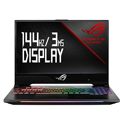 ASUS ROG Strix Hero II GL504GV 90NR01X2-M01550 39,6 cm (15,6 Zoll, FHD, Matt) Gaming Notebook (Intel Core i7-8750H, 16GB RAM, 512GB SSD, NVIDIA GeForce RTX 2060 (6GB), Windows 10) black Asus Notebook-gaming Laptop