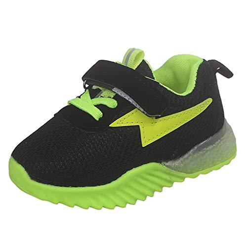 Oksea LED Sneakers Leuchtend Schuhe Outdoor Sportschuhe Blinkschuhe Skateboardschuhe 3 Farbe Farbwechsel Rädern Gymnastik Sneaker für Junge Mädchen