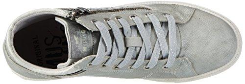 Mustang 1246-502-2, Sneakers Hautes Femme Gris (2 Grau)