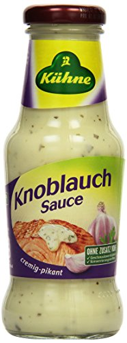 Kühne Grillsauce Knoblauch, 250 ml