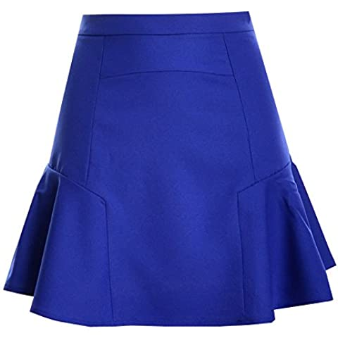 Minetom Las Mujeres De Faldas Cintura Alta Falda Chicas Delgado Minifalda Corto Vestidos de Fiesta