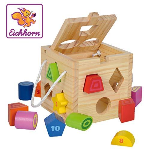 Eichhorn-100002092 Cubo encajables, (100002092)