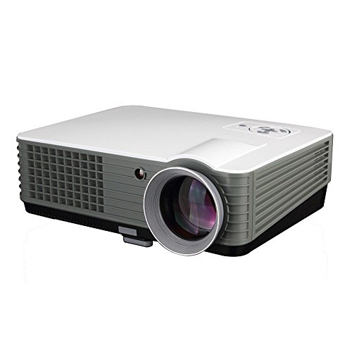 Bring Fun with our new Indian brand PLAY™ 3000 lumens LED Projector Full HD Data Show TV Video Games Home Cinema Theater Video Projector HD 1920 x 1080P with high 5000 : 1 Contrast - 1 Year Warranty With Customer Service