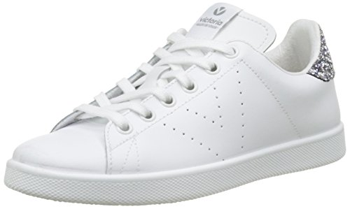 Victoria Deportivo Piel, Baskets Basses Mixte Adulte, Gris (Antracita), 37 EU