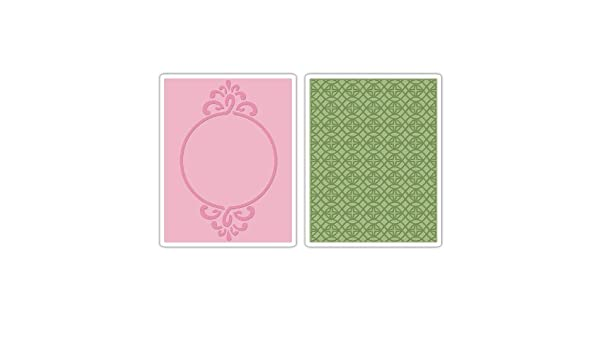 SIZZIX EMBOSSING FOLDER SPARKLING NEW FREE P/&P 657715