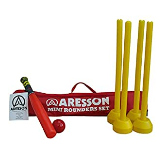 Aresson Kids Mini Rounders Set - Red, 75 cm