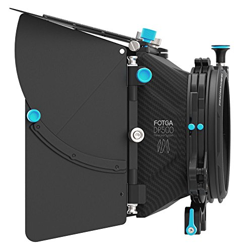 Preisvergleich Produktbild GEHOO FOTGA DP500 III 3 DSLR Swing-away Matte Box for 15mm Rod Rig 5D3 A7R A7S II BMCC
