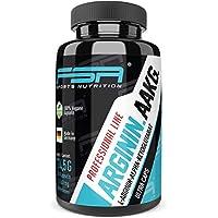 Preisvergleich für Arginin AAKG hochdosiert 150 Kapseln, 1000 mg L-Arginin AKG pro veganer Kapsel ohne Zusätze, Pre Workout und Pump...
