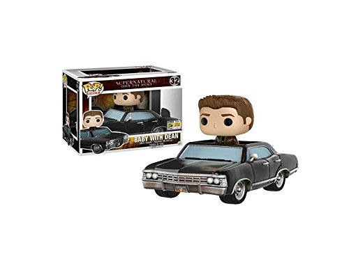Funko - Figurine Supernatural - Dean & Baby Exclu Pop Rides 10cm - 0889698149815
