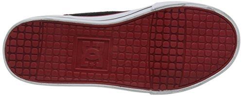 Dc Tonik B  Byr, Chaussons Sneaker Garçon Multicolore - Mehrfarbig (BLACK/GREY/RED- BYR)