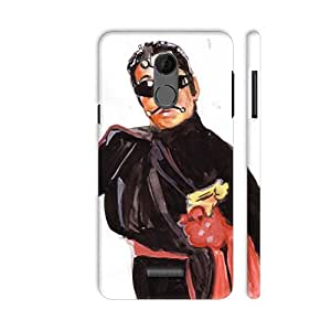 Colorpur Crime Master Gogo Printed Back Case Cover for Coolpad Note 5