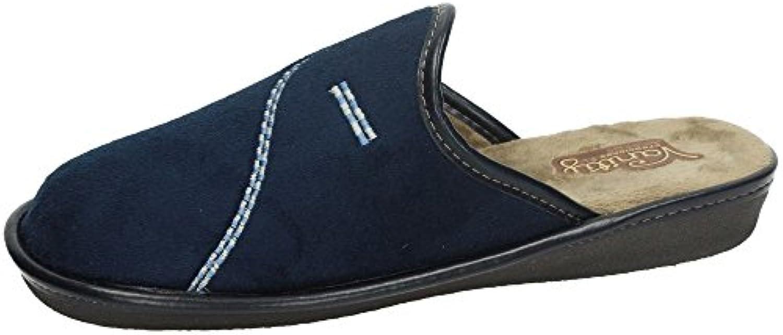 Vanity 1838 Chinelas Azules Hombre Zapatillas CASA