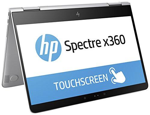 HP Spectre x360 (13-w003ng) 33,8 cm (13,3 Zoll / FHD-IPS) Convertible Notebook (2-in-1 Laptop mit: Intel Core i7-7500U, 16 GB RAM, 1 TB SSD, Intel HD-Grafikkarte 620, Windows 10 Home 64) silber