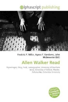 Allen Walker Read