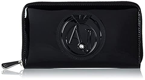 Armani Jeans Women's 928532cc855 Wallet, black Size: 2x10x19