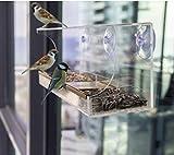 Homeself - Comedero para pájaros de ventana...