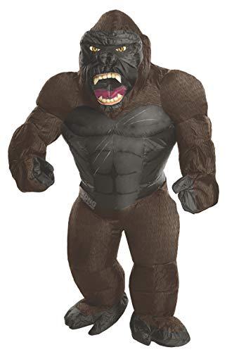 Kong Kostüm King - Generique - Aufgeblasenes King Kong Kostüm für Erwachsene Einheitsgröße
