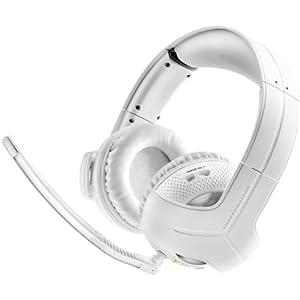 Thrustmaster Y-400x W RF Wireless Binaural Head-Band White Headset–Headsets (Game Console, Binaural, Head-Band, White, Xbox 360, Wireless)