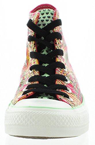 Converse Baskets femme CHUCK TAYLOR ALL STAR HI PRINT Cosmos Pink/Seahorse