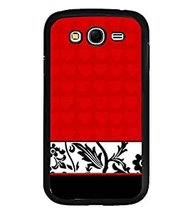 Fiobs Designer Back Case Cover for Samsung Galaxy Grand Neo I9060 :: Samsung Galaxy Grand Lite (jaipur rajasthan african america cross pattern)