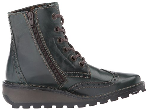 FLY London Marl Damen Kurzschaft Stiefel Petrol Rug