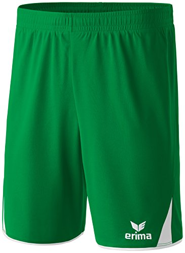 erima Herren Shorts 5-Cubes Smaragd/Weiß