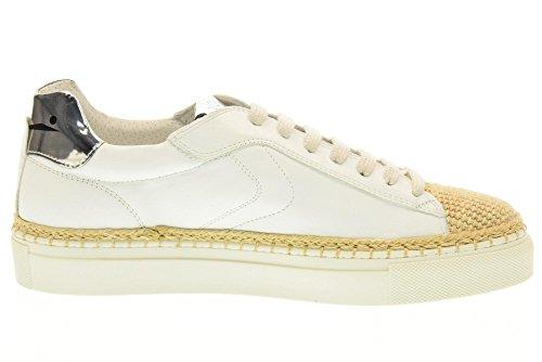VOILE BLANCHE Chaussures femmes espadrille 0012011163.02.9118 PANAREA Blanc