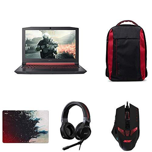 Acer Notebook Nitro 5 AN515-51-76BD, Intel Core i7-7700HQ + Zaino + Mouse + Headset + Mousepad