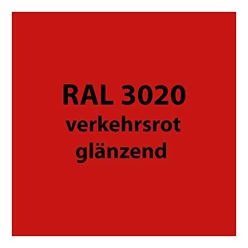 250 g Pulverlack Beschichtungspulver Pulverbeschichtung pulverbeschichten * viele verschiedene Farben wählbar * PG 2 (RAL 3020 verkehrs-rot glänzend)